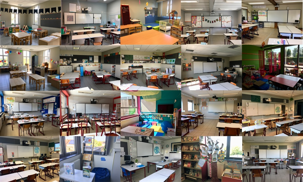 20 klassen zijn klaar voor het schooljaar 2019 - 2020
