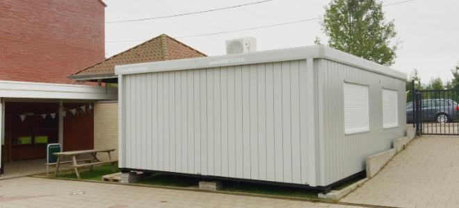 Nieuwe klascontainer