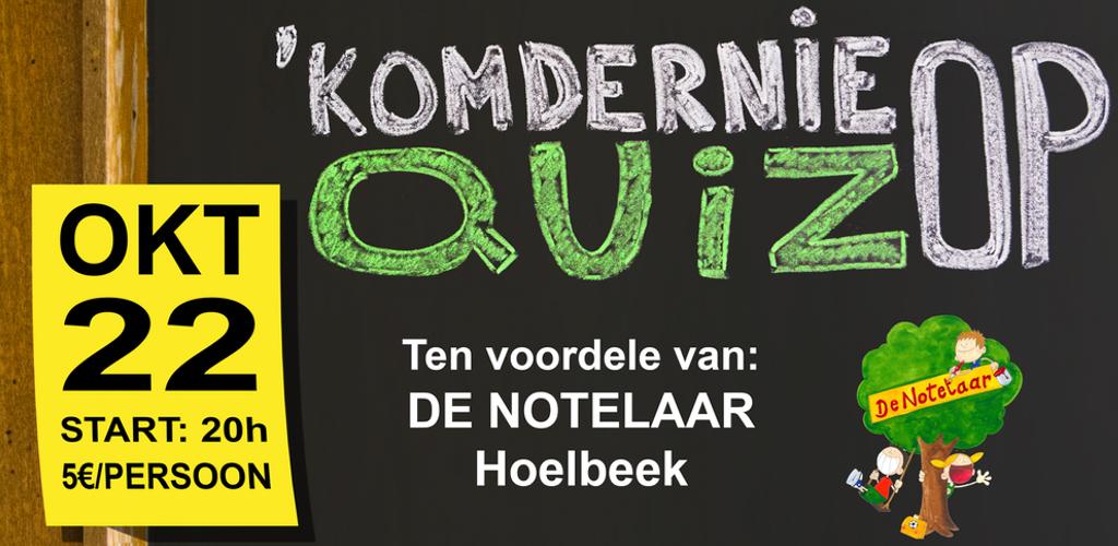 'Komdernieop Quiz 2016