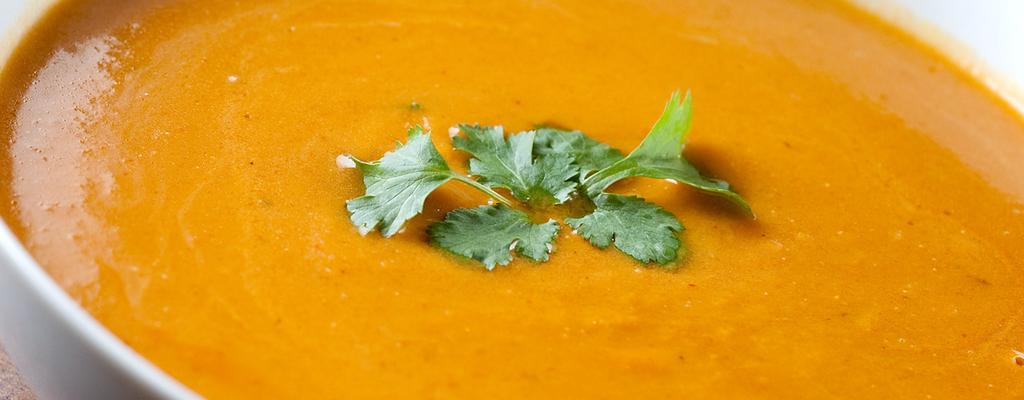 Aah, er is terug soep!