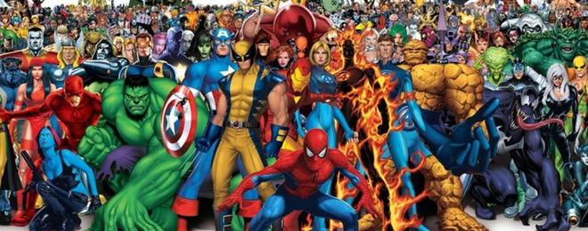 Een team van superhelden