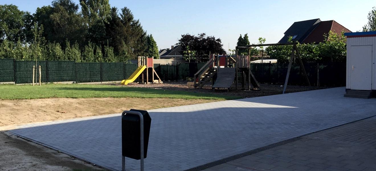 Uitbreiding speelplaats Martenslinde 2015